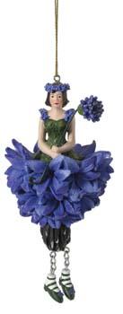 Korenbloem meisje hangend 12cm