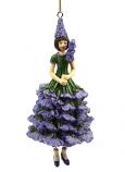 Lavendel meisje grt hangend 13cm