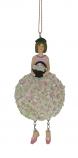 Hortensia meisje hangend 11cm