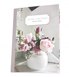 Shabby Chic Roses Sticky Notes 22x16cm