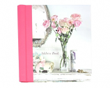 Shabby Chic Roses Large Address Book 18,6x16cm