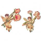 Flower Fairy ornament 2ass.