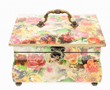 Kistje op voetjes Angels&Roses 24x18,5x15cm