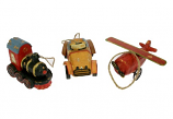 Set van 3 speelgoed ornamenten