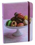 Macarons mini notebook 15x11cm