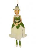 Bloemenmeisje Klokjesbloem meisje Hangend wit 13 cm