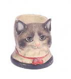 Pennenhouder kat