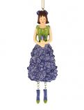 Ridderspoor meisje hangend blauw 14cm