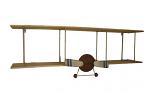Boekenplank Vliegtuig 12x30x42 cm