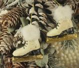 Ornament Schaatsjes 3,5 cm
