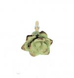 Deurknop bloem groen