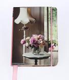 Pretty Pastel notebook lamp 15x11cm