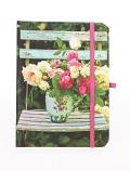 Peonies & Roses mini notebook 15x11cm