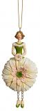 Gerbera meisje licht roze hangend 12cm