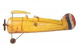 Magneetbord vliegtuig 65x27cm