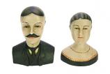 Margaux et Louis (set van 2) 14 en 15 cm