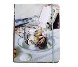 Handmade Living Coral mini notebook 15x11cm