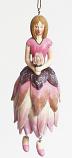 Protea meisje hangend 12cm roze