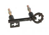 Deurknop sleutel 7,5x6,4x2,6cm